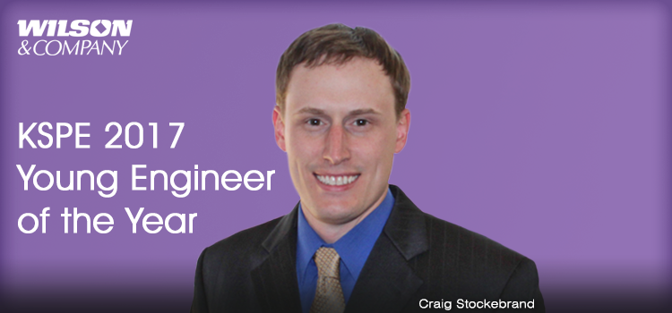 Craig Stockebrand named KSPE 2017 Young Engineer of the Year