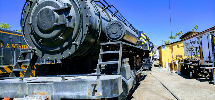 Wilson & Company's railroad and bridge services for the movie The Lone Ranger