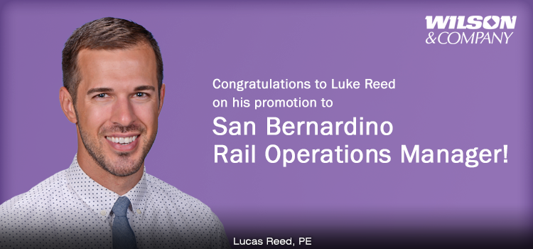 New Rail Operations Manager to Continue Wilson & Company Growth