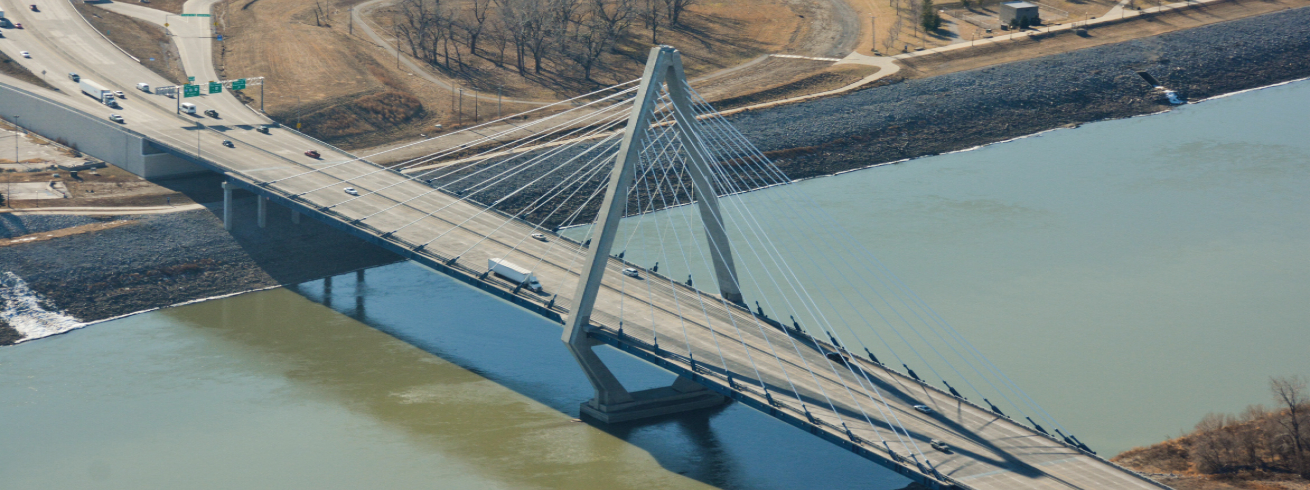 kcICON I-29/35 Design-Build, Paseo River Bridge