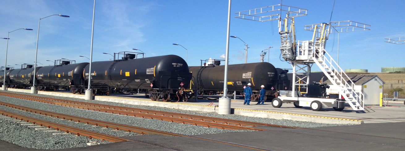 Tesoro Crude Oil Unit Train Unloading Facility
